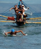 THE BIGGER PICTURE -Swim across Sarangani Bay  in less than 3 hours
